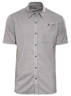 Icebreaker Departure SS Shirt Check Men monsoon/snow